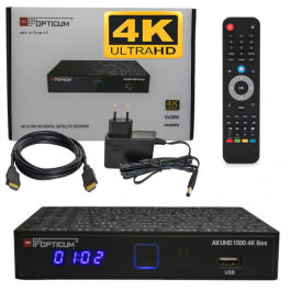 Sat Receiver Opticum AX UHD 1500 4K