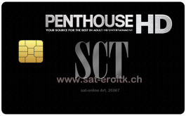 Penthouse HD 12+ PC6 Erotik Karte 12Mt.