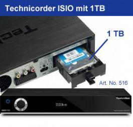 Technisat TechniCorder ISIO SC 1TB sw