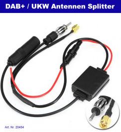 DAB+ Auto Antennen Splitter aktiv