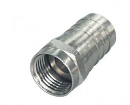 Sat F-Stecker Crimp 4,2mm 2 Stück