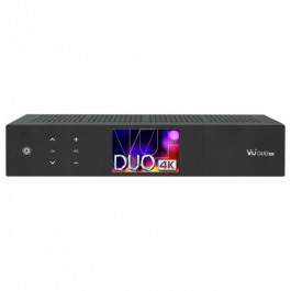 VU+ Duo 4K 1x DVB-S2X FBC 1x DVB-C FBC