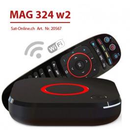 IPTV MAG 324 W2 WiFi VOD OTT Streambox
