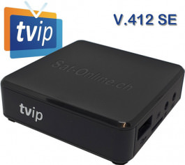 IPTV TVIP 412 SE Box WiFi