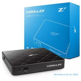 IPTV Formuler Z7+ 4K Android H.265 black