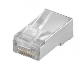 Kabel NW RJ45 Stecker 10er Set Flach