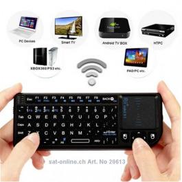 IPTV Keyboard SE fuer IPTV Boxen