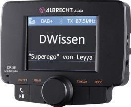 DAB + Albrecht DR 56 Appareil de démonstration