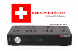 Sat Receiver Opticum HD Suisse Viaccess