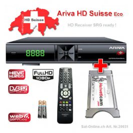 Ariva HD SUISSE Viaccess Ricevitore satellitare