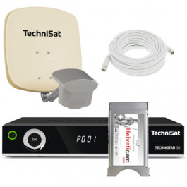 Sat Set Technisat DuoSat + Technistar S6