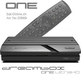 Dreambox ONE 4K UHD 2x DVB-S2X MIS