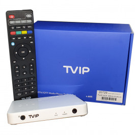 IPTV TVIP 605 Box WiFi White Edition