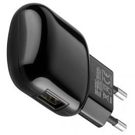 Ladegerät 230V 1x USB QC 3.0 2A schwarz