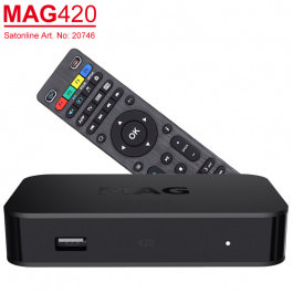 IPTV MAG 420 UHD VOD OTT Stream-Box