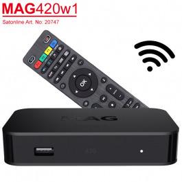 IPTV MAG 420 W1 UHD VOD OTT Stream-Box