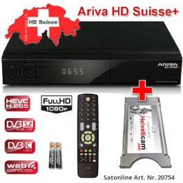 Ariva HD SUISSE+ Viaccess Sat Receiver