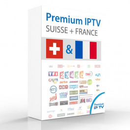 IPTV FTA Sender Schweiz + FR 12Mt