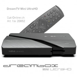 DreamTV Mini Ultra HD 4K - Dreambox IPTV