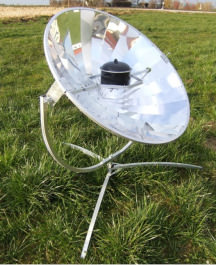 Solarkocher 110cm 450 Watt