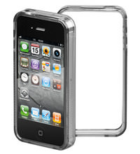 IPhone 4 grip-Bumper schwarz