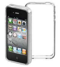 IPhone 4 grip-Bumper transparent