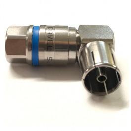 IEC Self-Install Kupplung Winkel
