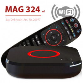 MAG 324 W1 WiFi VOD OTT Streambox