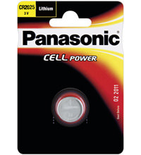 Knopfzelle 1Stk. CR 2025 Panasonic