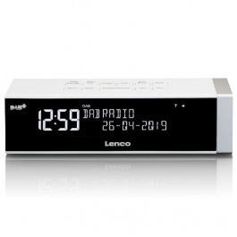 DAB+ Radiowecker Lenco CR-630 Weiss