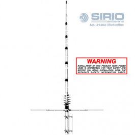 Sirio New Tornado CB Funkantenne ⅝ Lambda