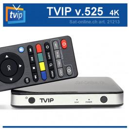 IPTV TVIP 525 Box 4K (S-Box) Dual WiFi
