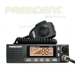 President Johnson II ASC radio CB