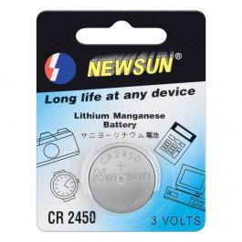 Knopfzellen Batterie 1Stk. CR 2450
