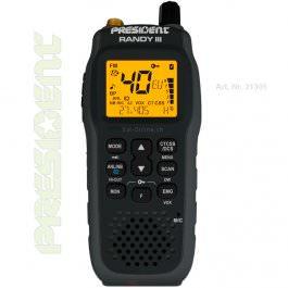 President Randy III AM / FM Radio CB portable