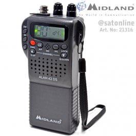 Alan 42 DS Multi CB-Handfunkgerät AM/FM