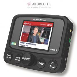 Albrecht DR-56C DAB+ Autoradio
