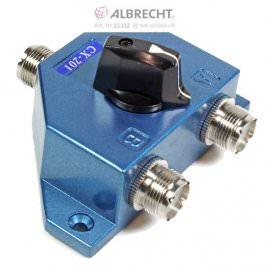 Albrecht CX-201 2-fach Antennenumschalt.