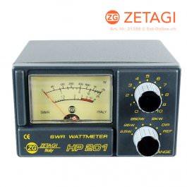 Zetagi HP-201 SWR + Watt Meter 3-200 MHz