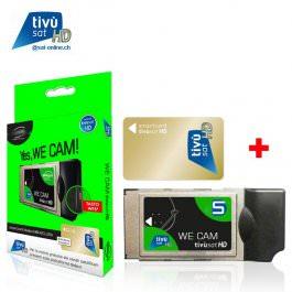 Sat Pay-TV Tivusat WE Cam HD + Card CI+
