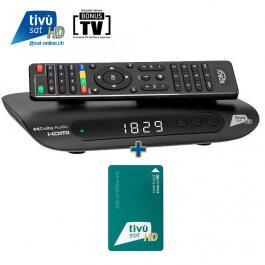 Tivusat Xoro HRS 8830 HD + Karte!