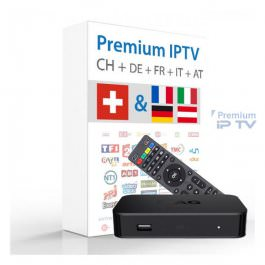 MAG 420 IPTV 4K inkl. FTA Sender