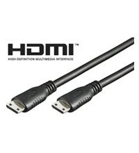 Kabel HDMI-Mini Stecker/Stecker 2,5Meter