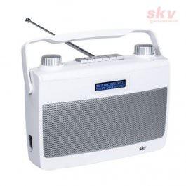 DAB+ Radio SKV DAB 8-W weiss