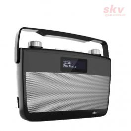 DAB+ Radio SKV DAB 7-S schwarz