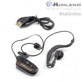Midland WA-21 Kopfhörer-Mikrophon + PTT