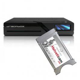 Dreambox Two 4K UHD 2x DVB-S2X Swiss