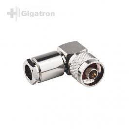 N-Winkel Stecker RG213-U Clamp