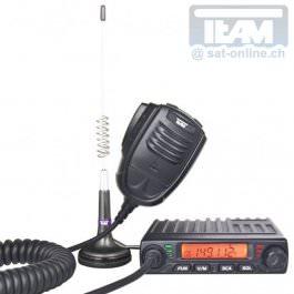 Team MiCo PMR Mobilfunkgerät mit Antenne