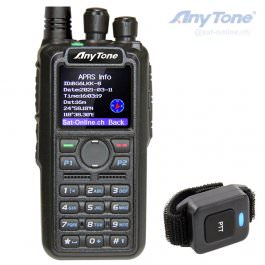 Anytone AT-D878UV2 V2 Plus DMR APRS GPS